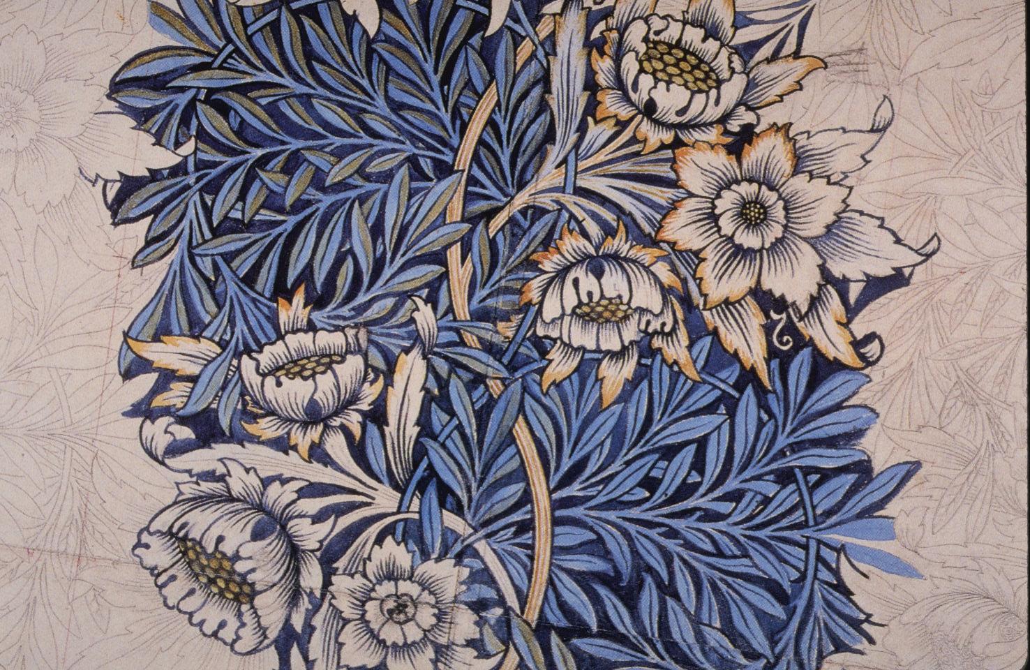 File Morris Tulip And Willow Design 1873 Jpg