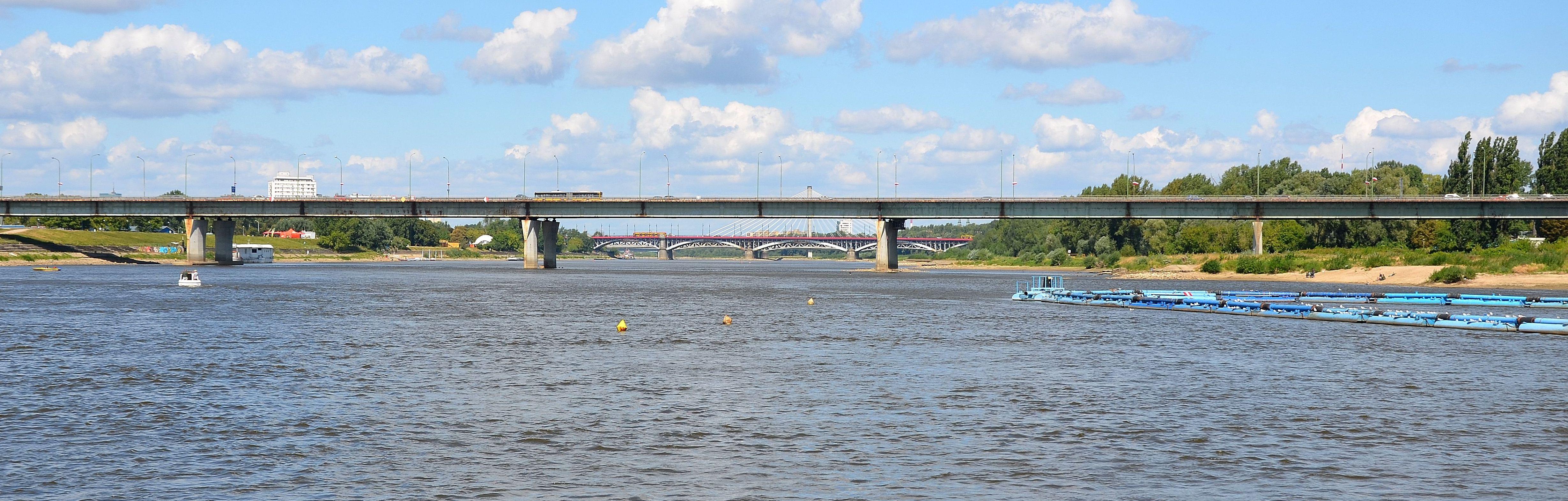 Most Łazienkowski 2013 r.