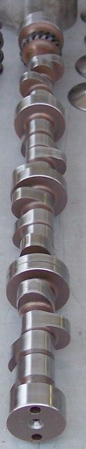 Camshaft made from steel billet