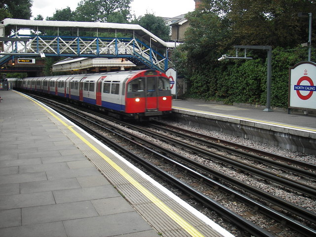 North Ealing station, Piccadilly Line - geograph.org.uk - 215167
