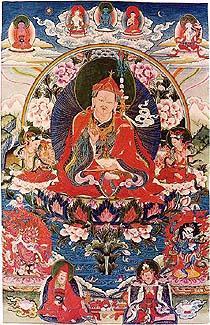 Padmasambhava papá. Nyingmapa_Padmasambhava