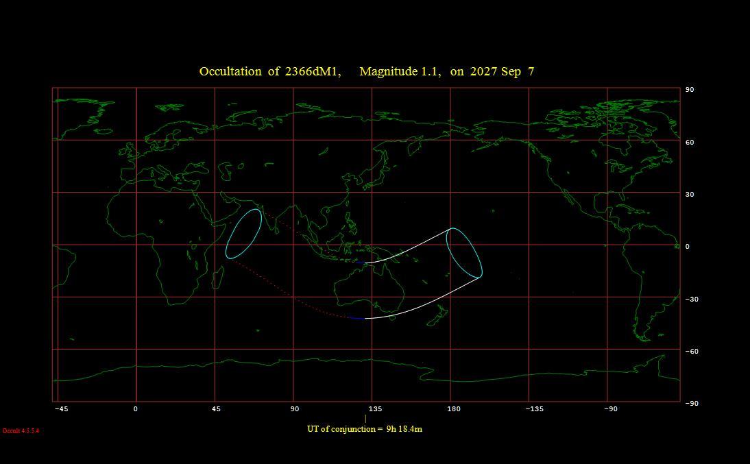 Grazing lunar occultation - Wikipedia