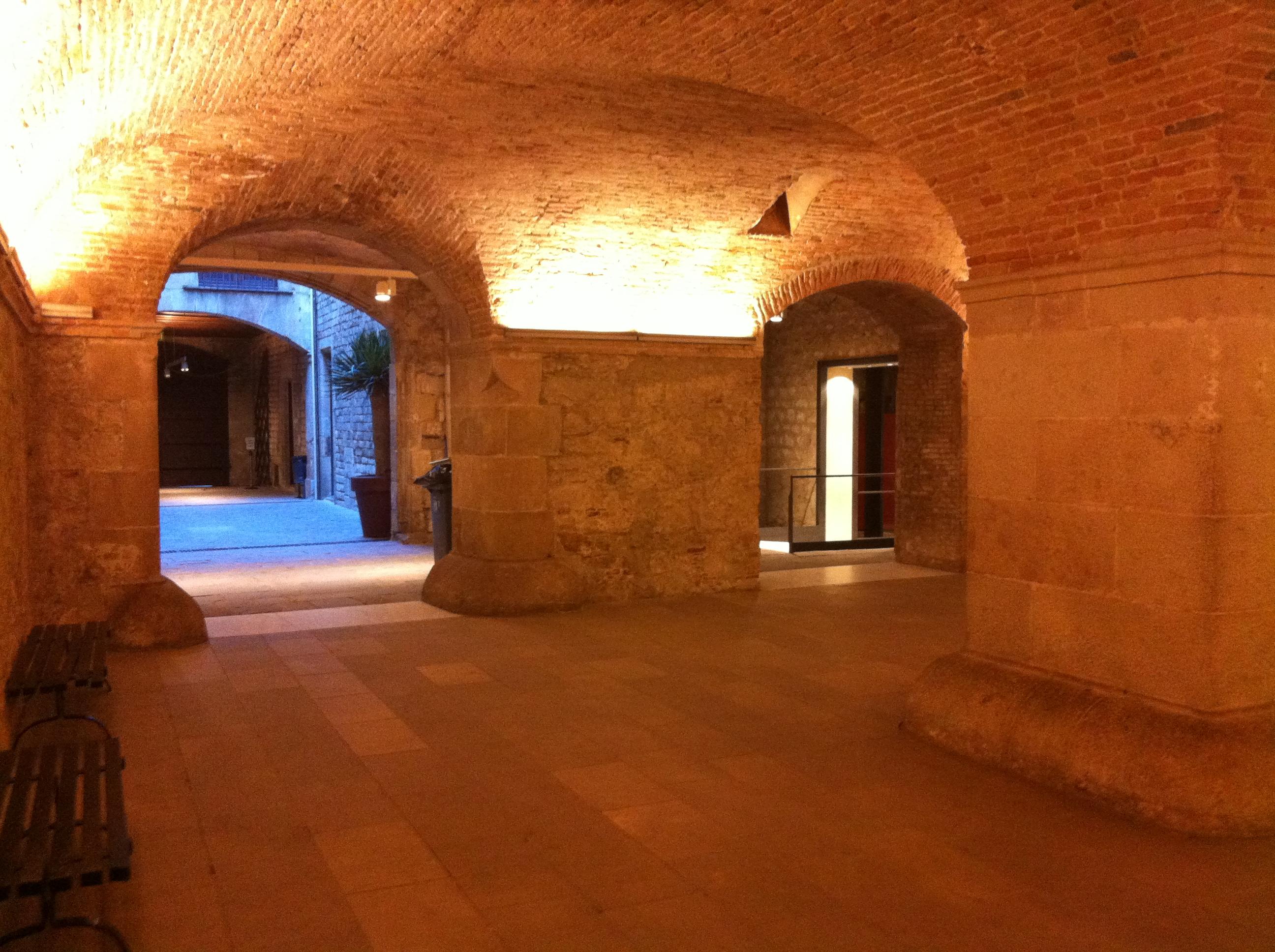 Foyer Planta Baixa : Picasso museum