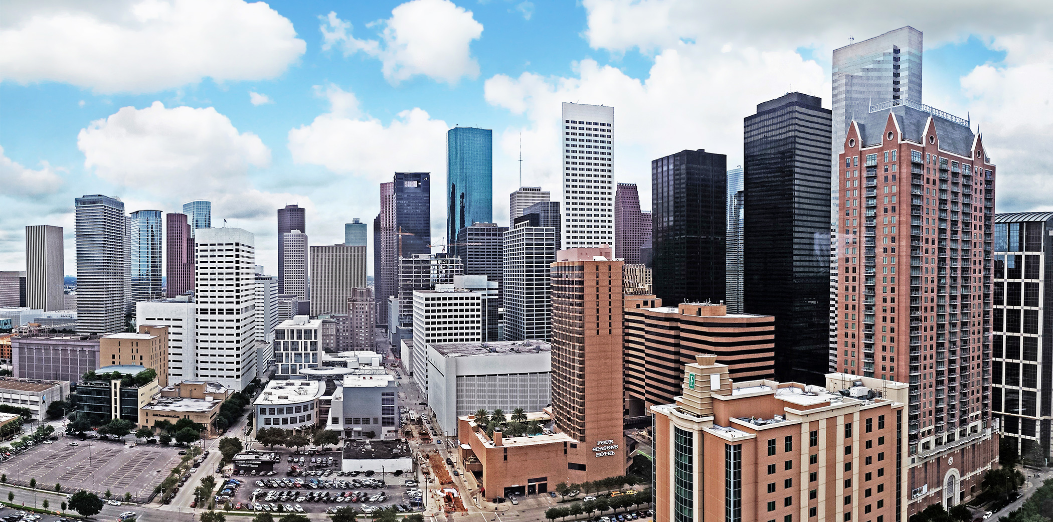Houston City Skyline Downtown