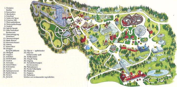 tusenfryd kart File:Parkkart fra TusenFryd (1988).   Wikimedia Commons tusenfryd kart