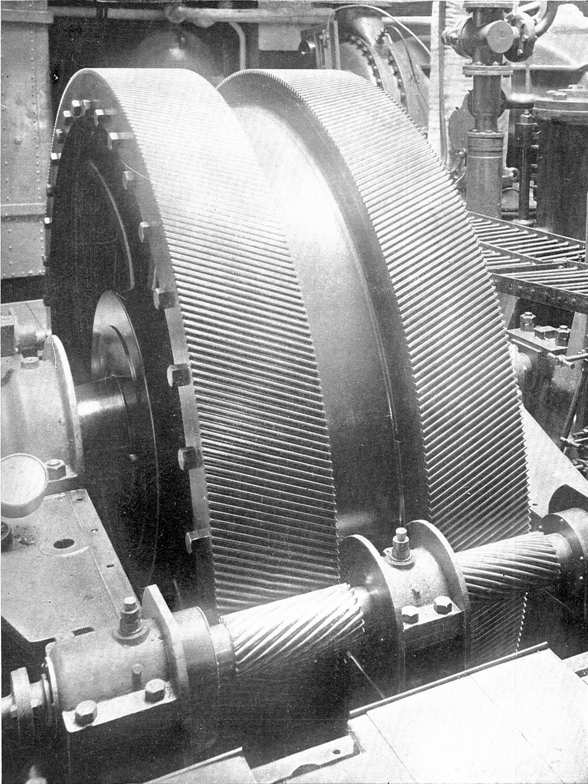 Ss United States Engine Room: File:Parsons Helical Wheel Gearing (Rankin Kennedy, Modern