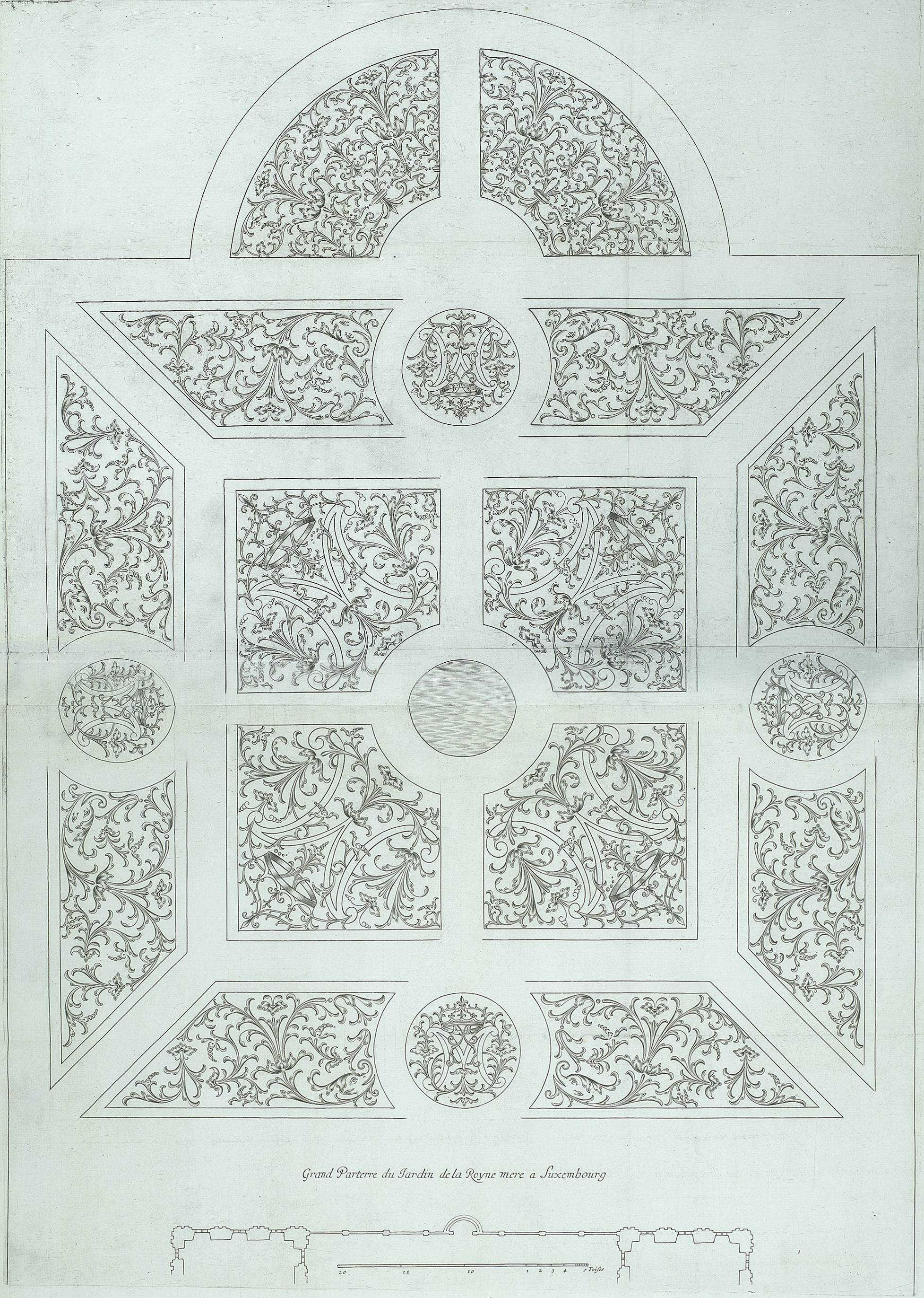 file parterre design by boyceau for the luxembourg met museum of