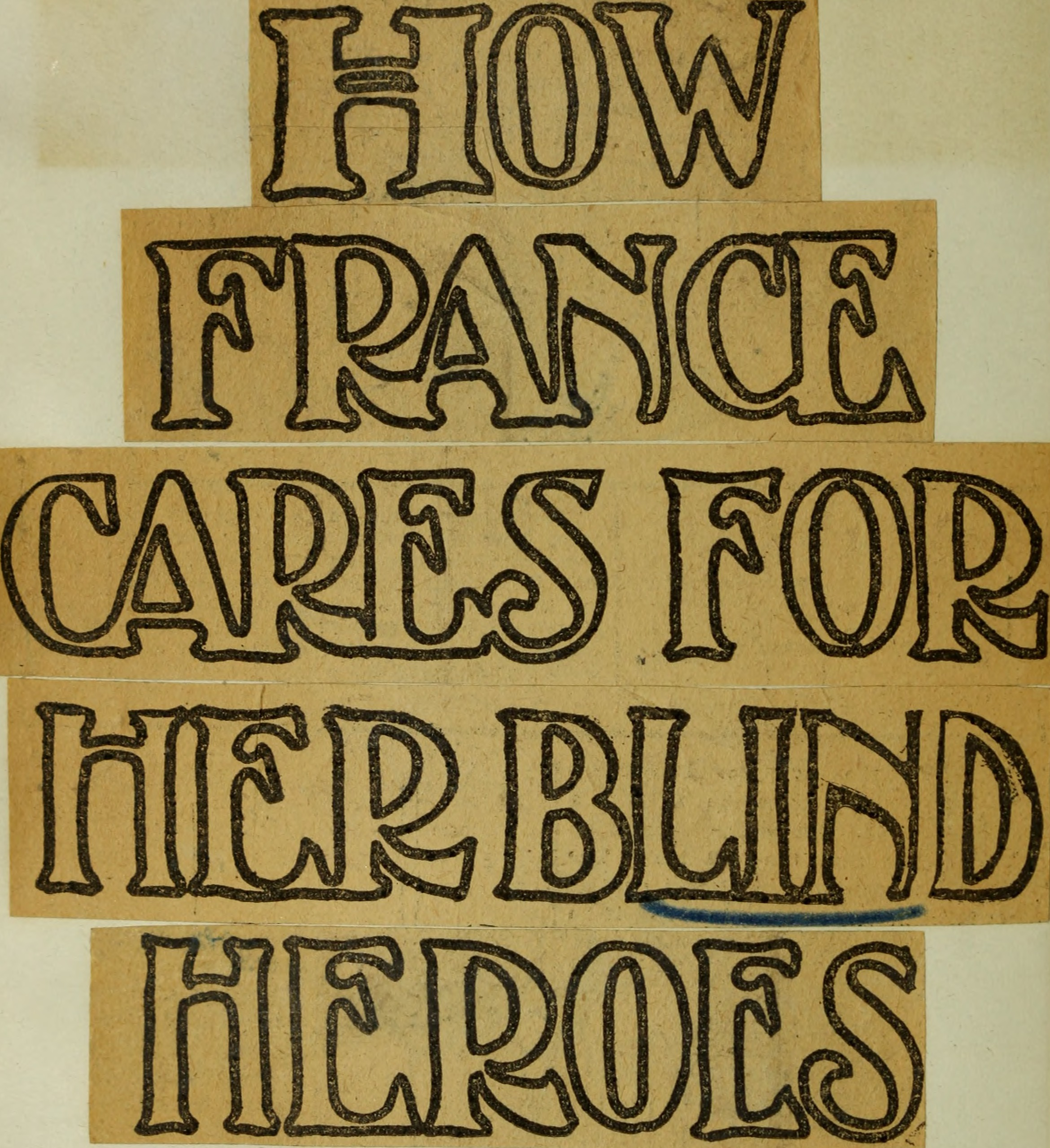 File:Perkins School for the Blind Bound Clippings- World War Blind ...