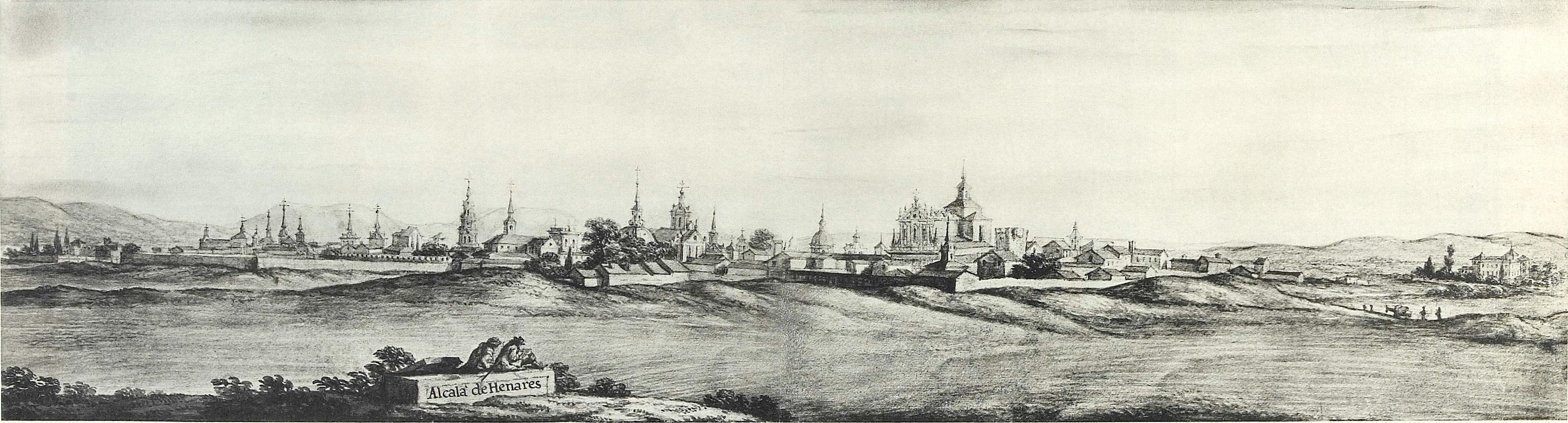 Resultado de imagen de 1668, según acuarela de Pier Maria Baldi.