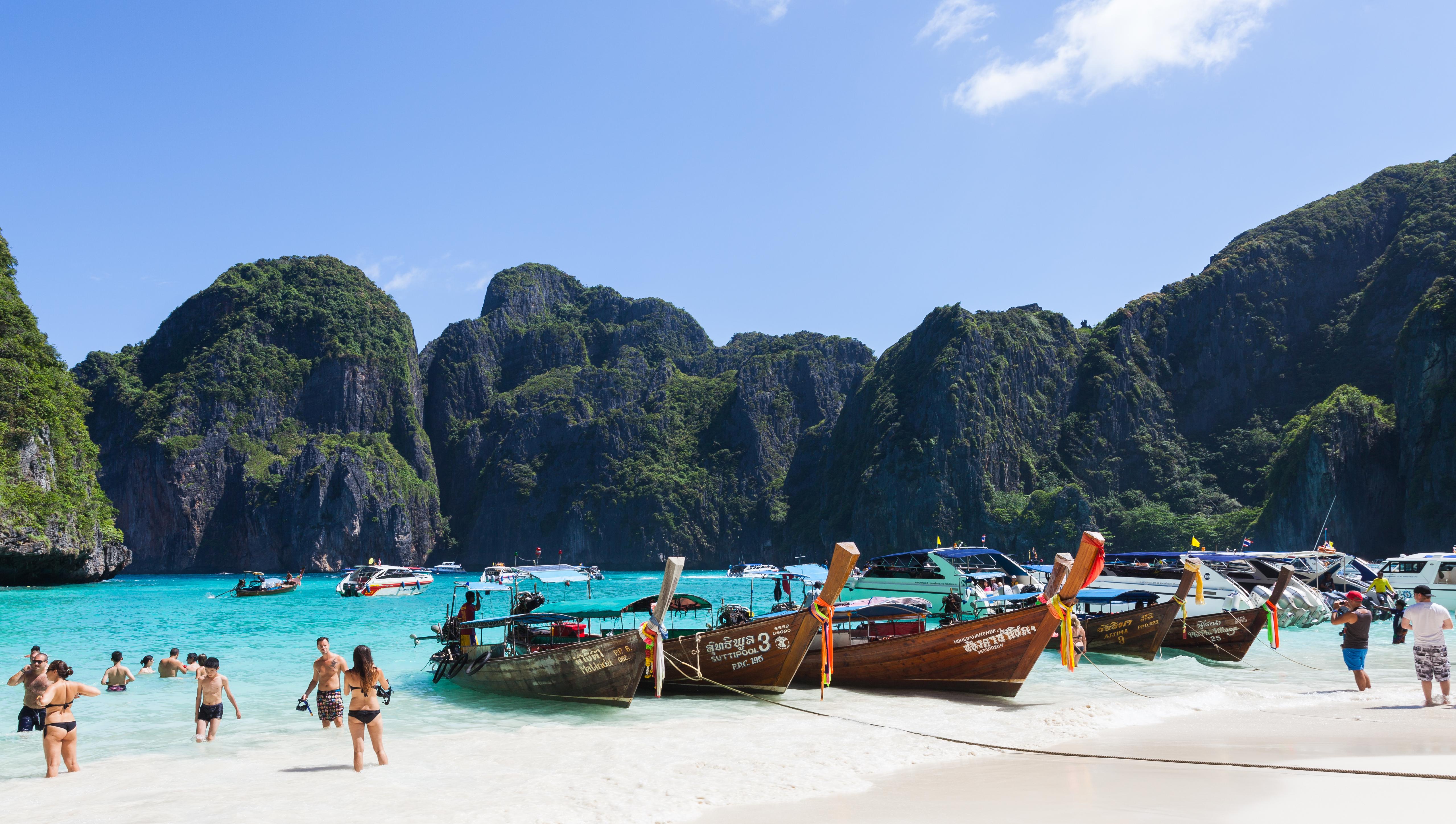 Resultado de imagen de Ko Phi Phi Lee la playa
