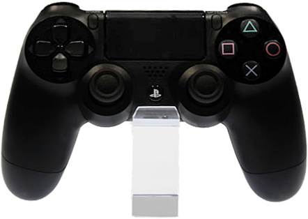 A PlayStation 4 controller By tofuprod [CC-BY-SA-2.0 (http://creativecommons.org/licenses/by-sa/2.0)] via Wikimedia Commons