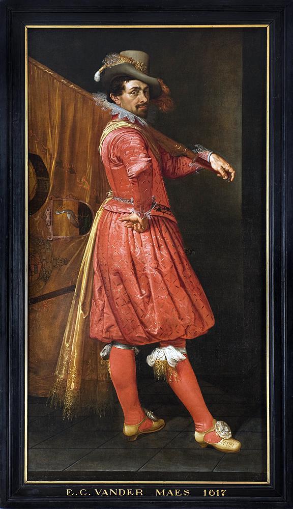 File Portret Willem Jansz Cock Vaandeldrager Oranje