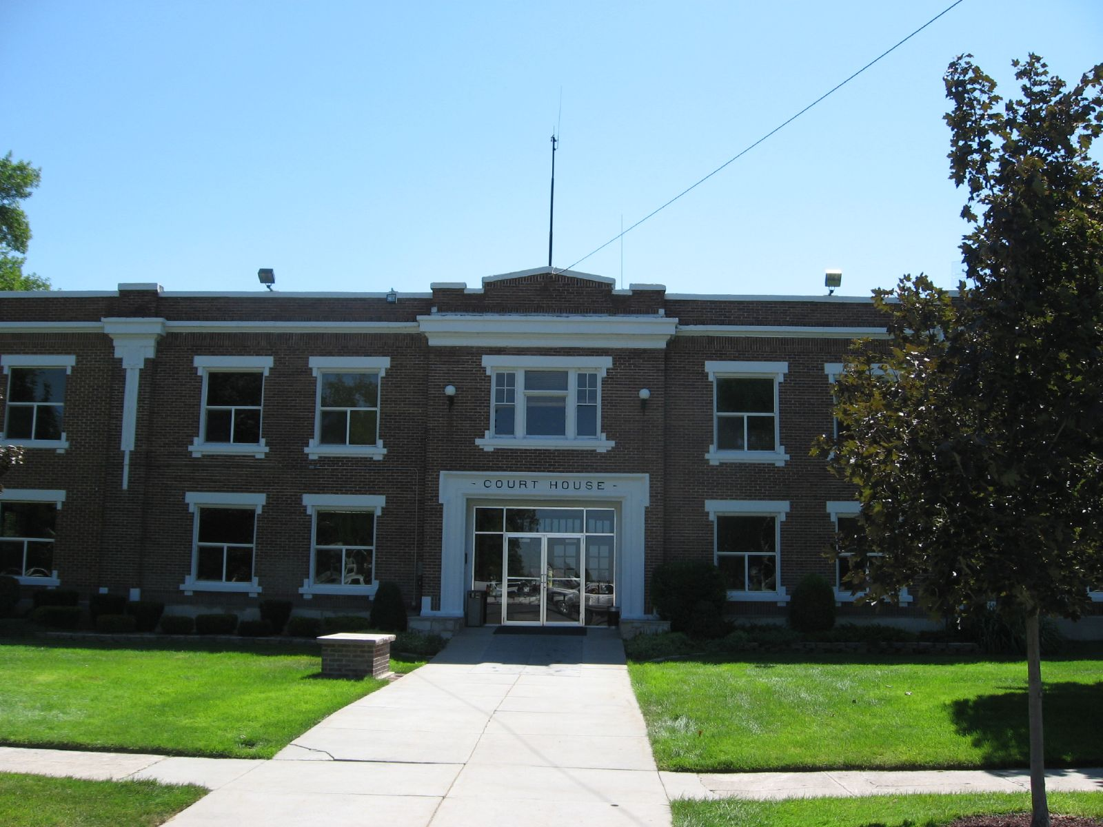 Power County Courthouse in American Falls