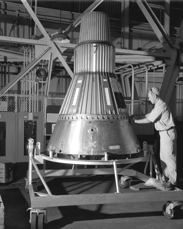 Project Mercury Capsule 2 GPN 2000 000382