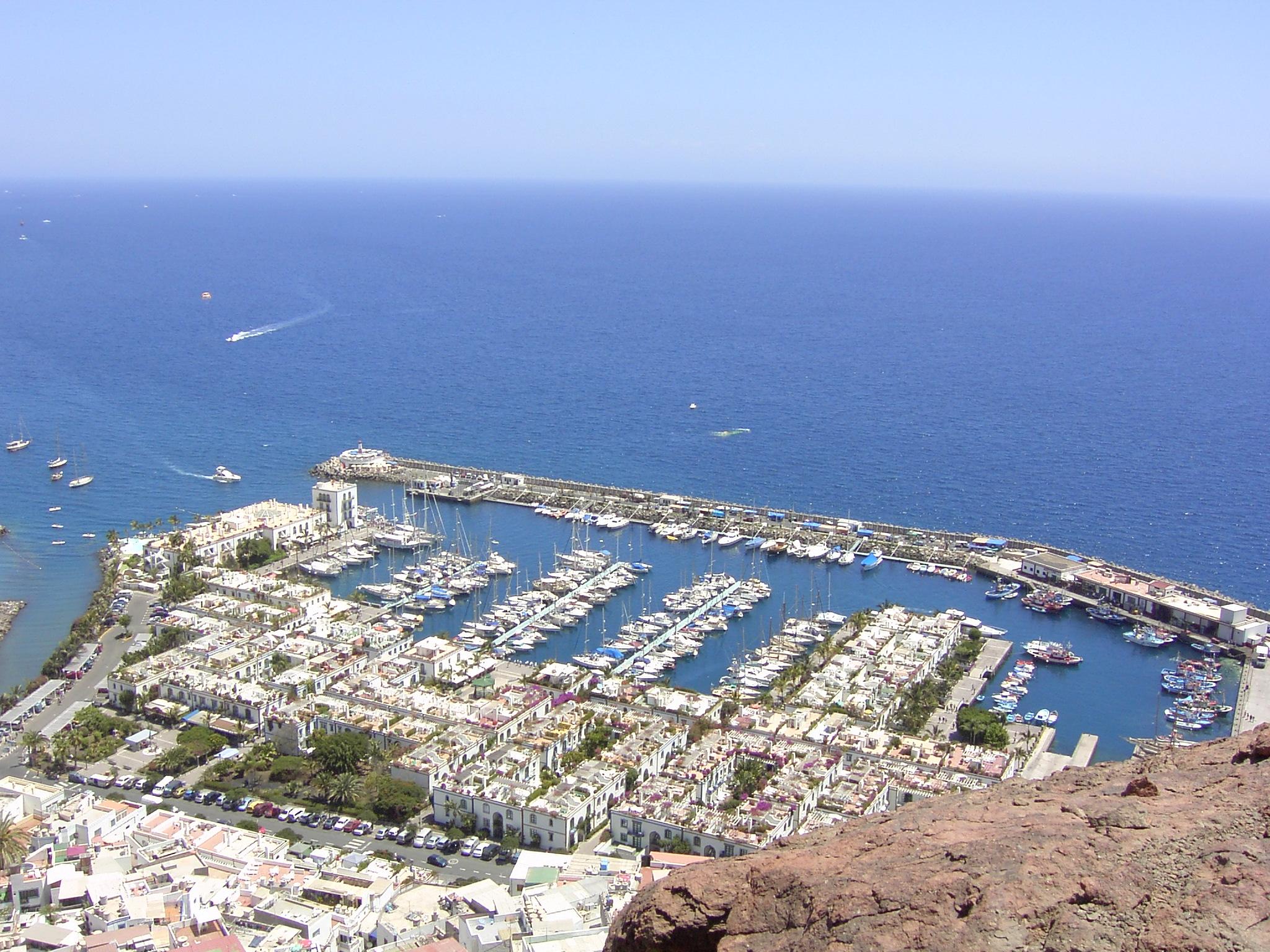 File puerto deportivo mogan gran - Puerto mogan gran canaria ...