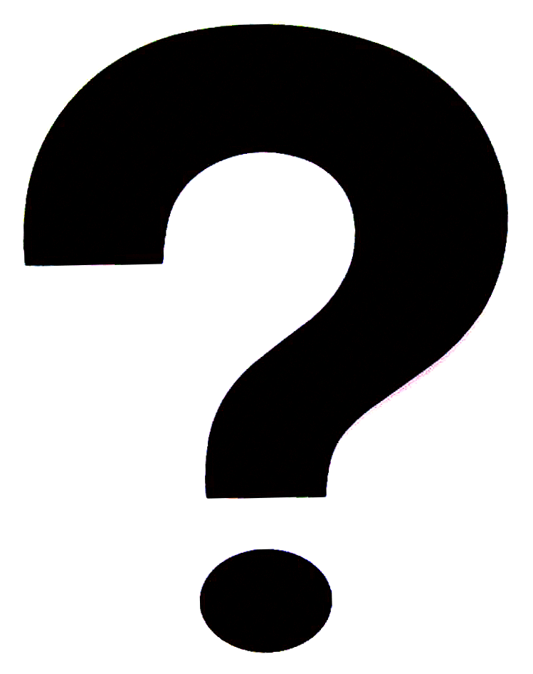 Description Question mark  black on white  pngQuestion Mark Clip Art Black And White Png