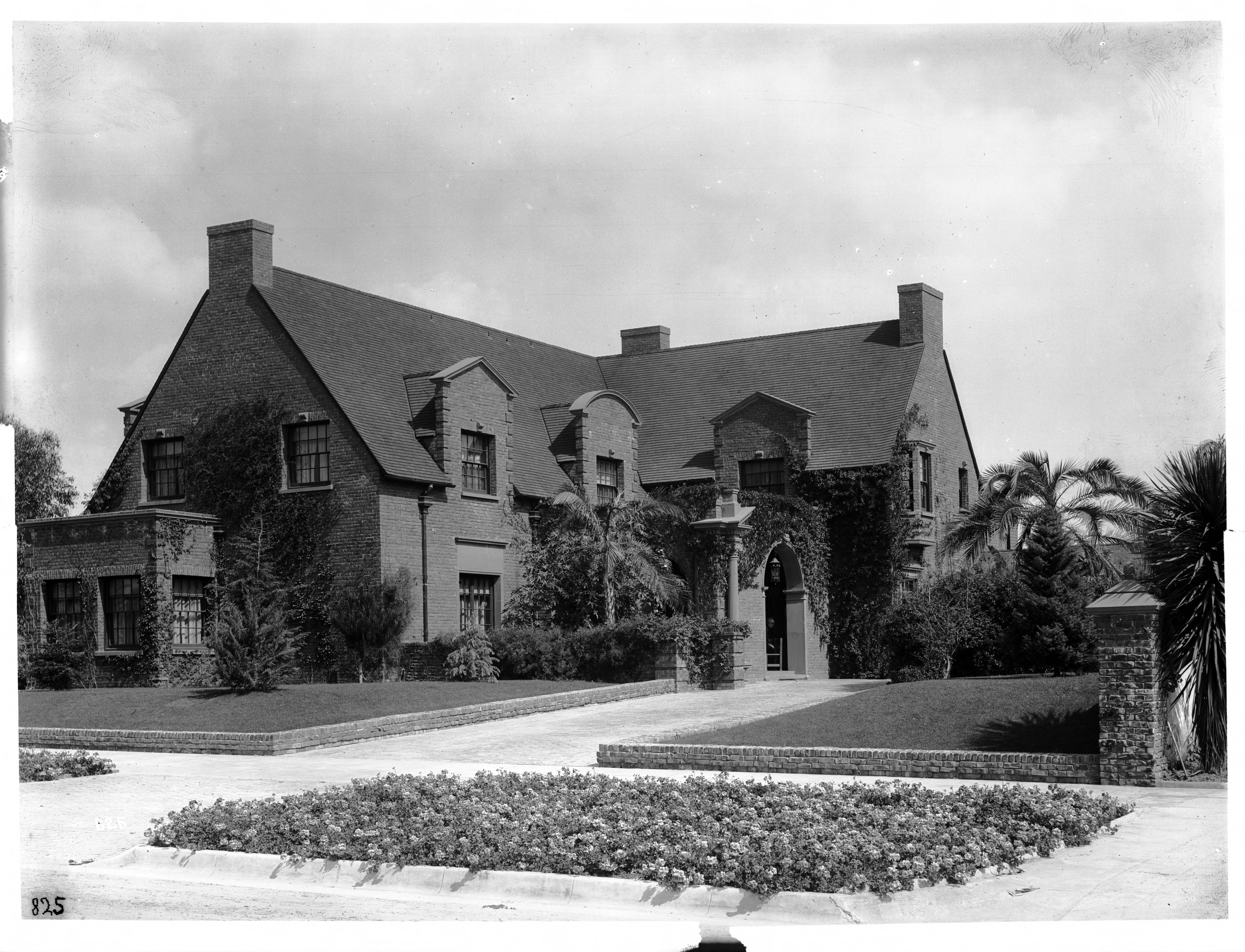 File Residence Of E T Earl Wilshire Boulevard Los
