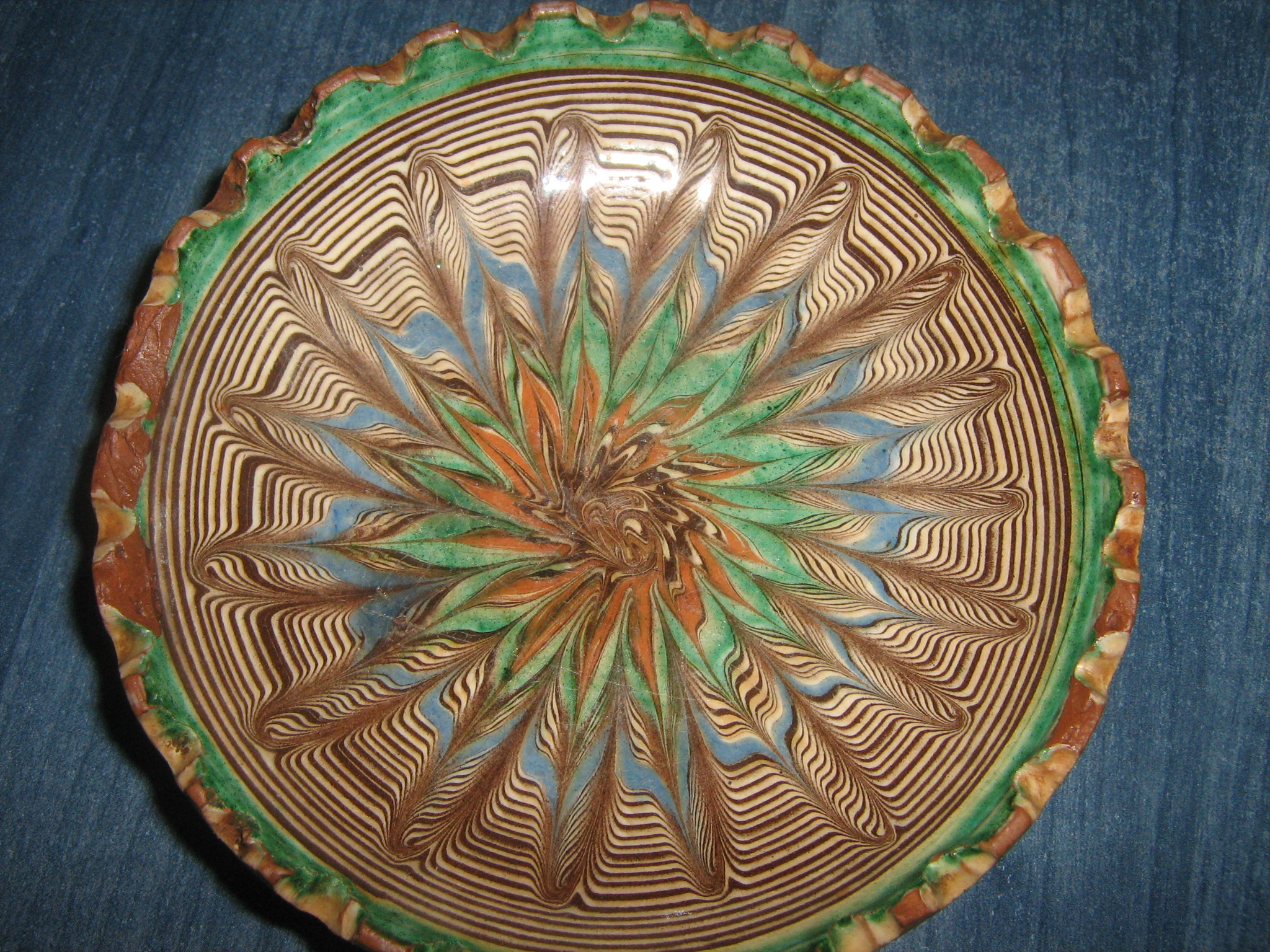 Large Decorative Ceramic Plates Fileromanian Decorative Plate Wikimedia Commons : large decorative plate - pezcame.com