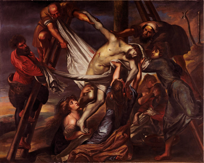El Descendimiento De La Cruz Rubens 1600 1602 Wikipedia La Enciclopedia Libre