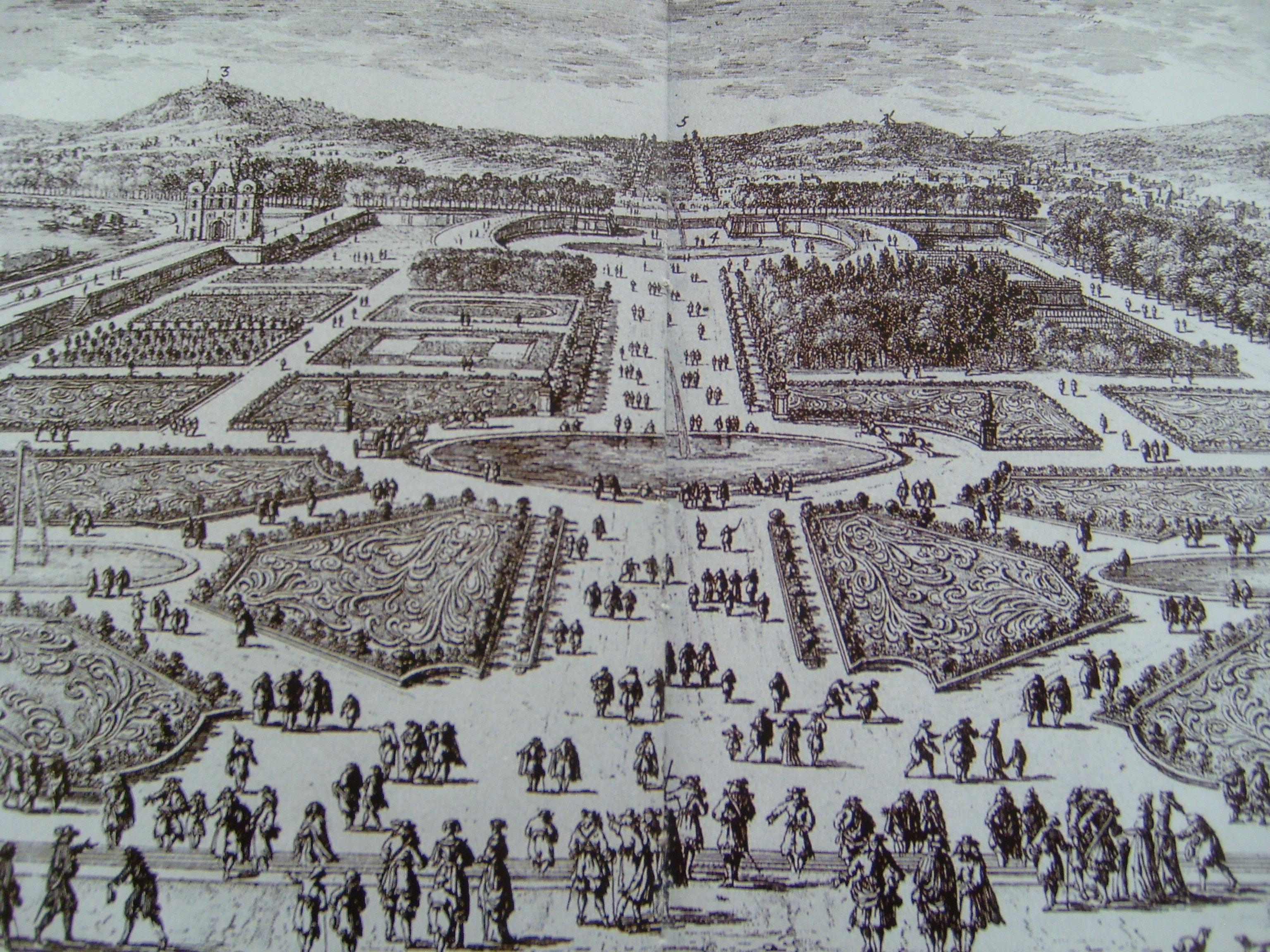 Tea at trianon the tuileries gardens for Louis jardin wine