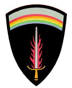 Supreme Headquarters Allied Expeditionary Force - Shoulder patch for those attached to the Supreme Headquarters Allied Expeditionary Force during WWII