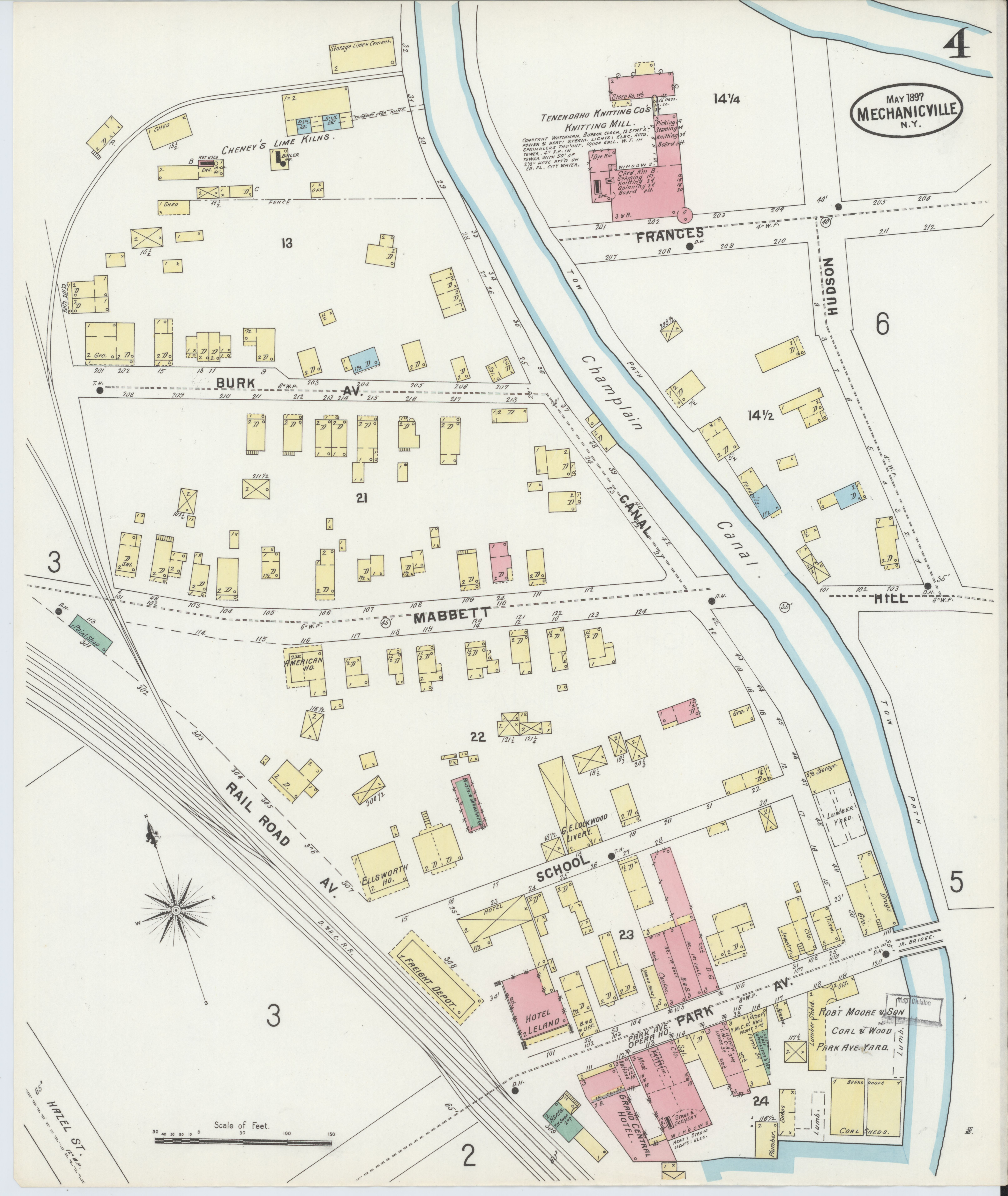 Saratoga New York Map.File Sanborn Fire Insurance Map From Mechanicville Saratoga County