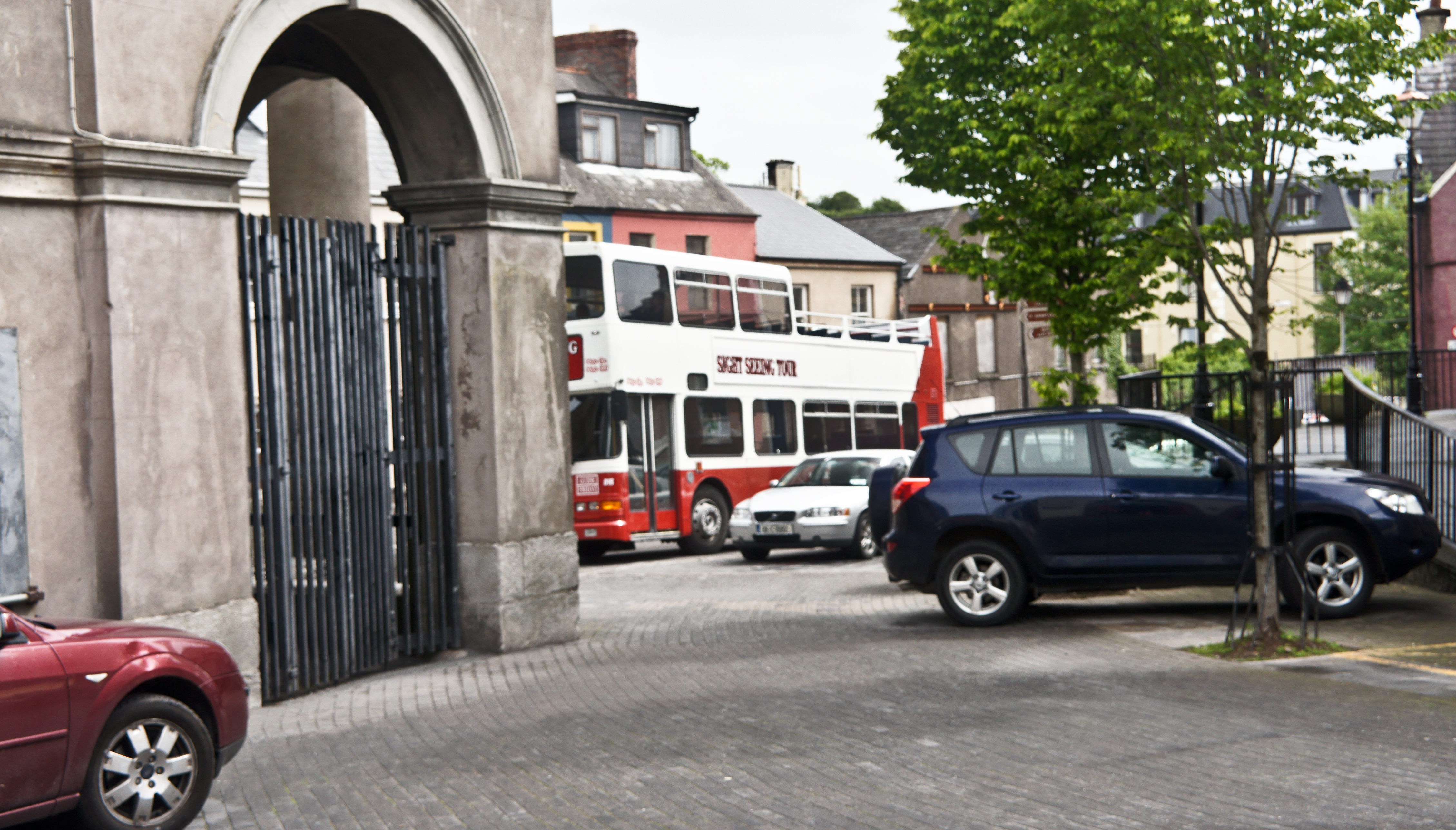 The Shandon area of Cork City; the Firkin Crane is a permanent base for Cork City Ballet, Crux Dance Theatre and other dance activities