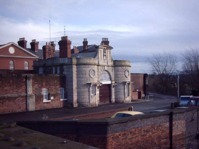 Shrewsbury Prison main entrance