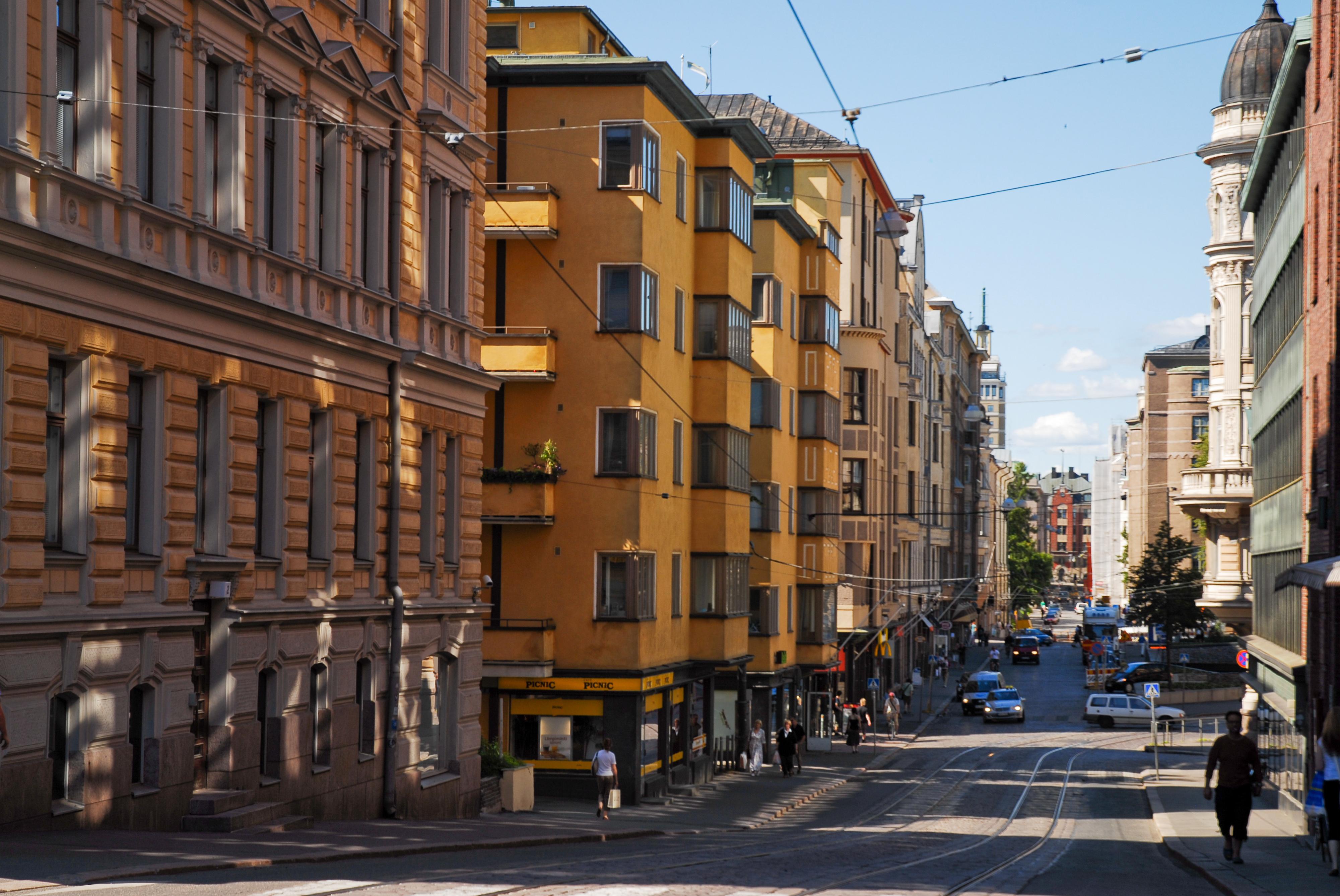 File Streets Of Helsinki Finland Northern