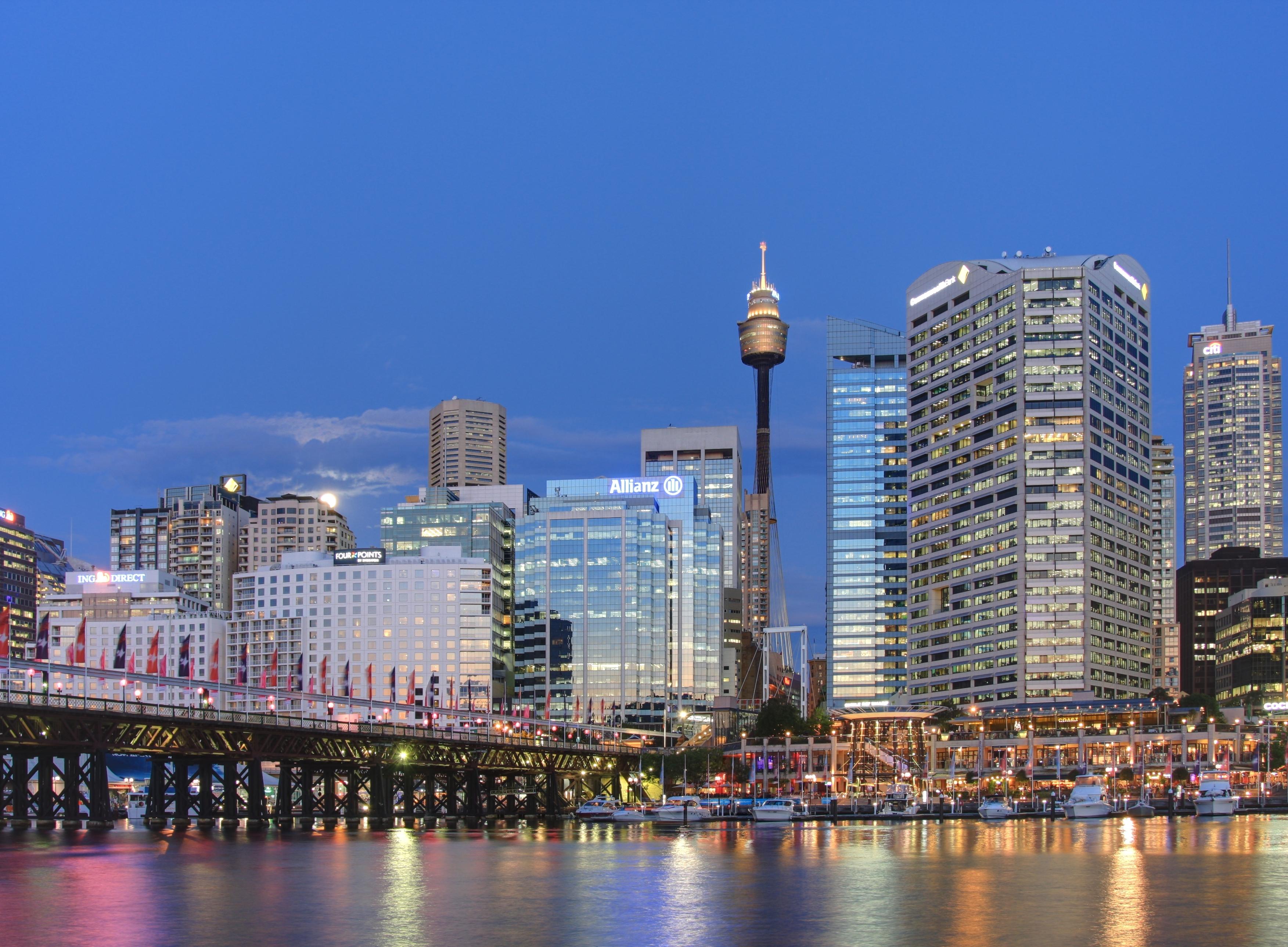 Sydney sunset darling harbour.jpg