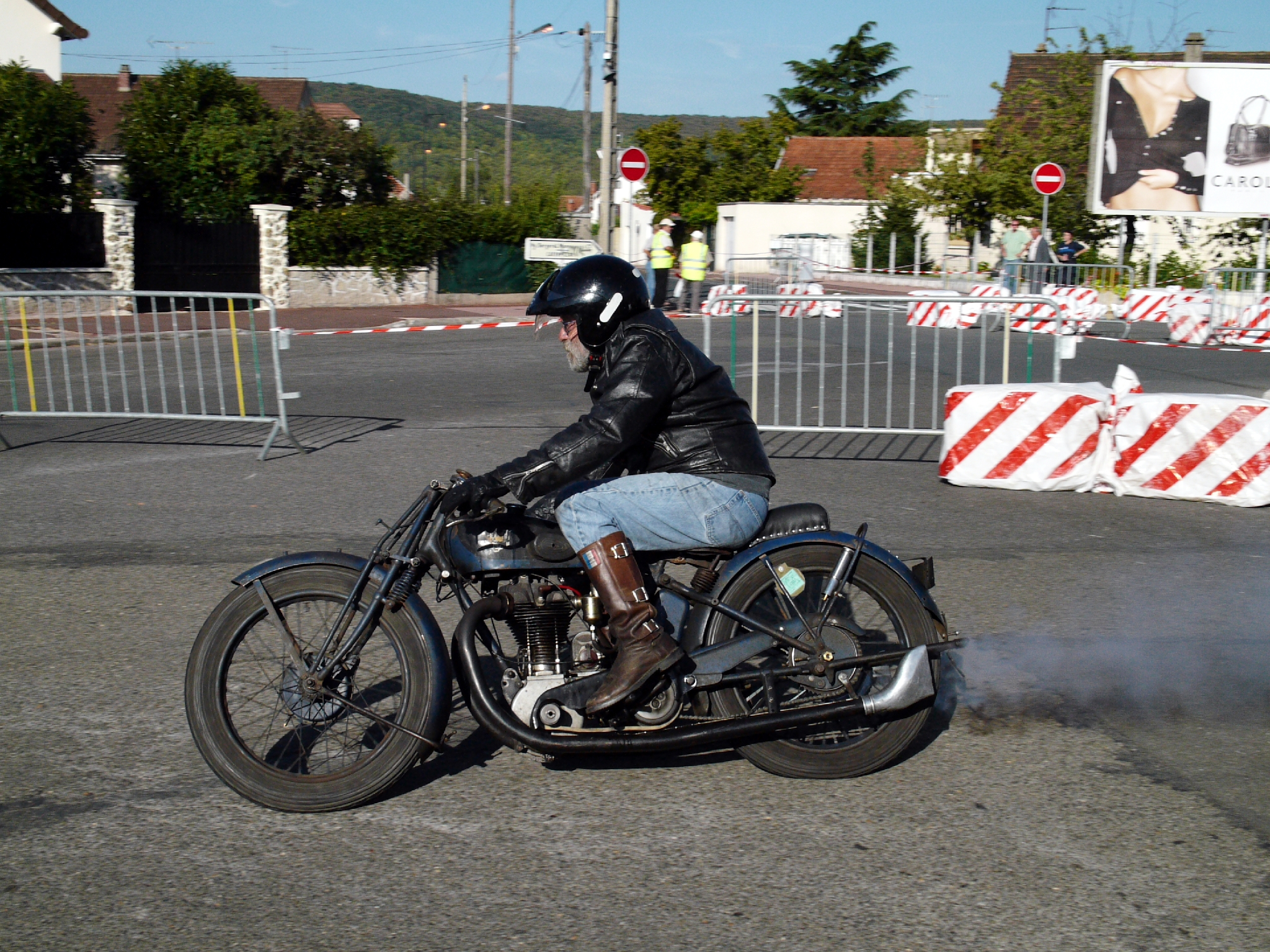 A Course Motorcycle