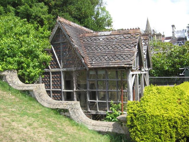 The aviary at Tyntesfield, awaiting restoration - geograph.org.uk - 1991414