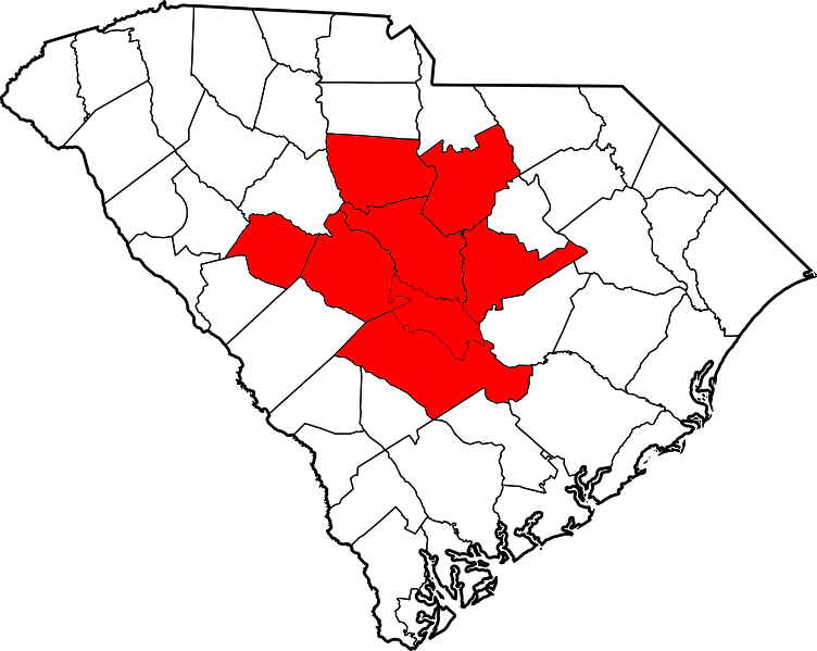 Midlands of South Carolina  Wikipedia