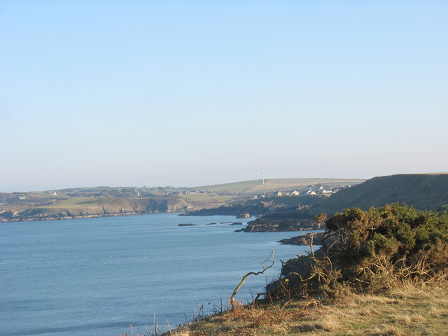 The shores of Cemaes Bay - geograph.org.uk - 1179399