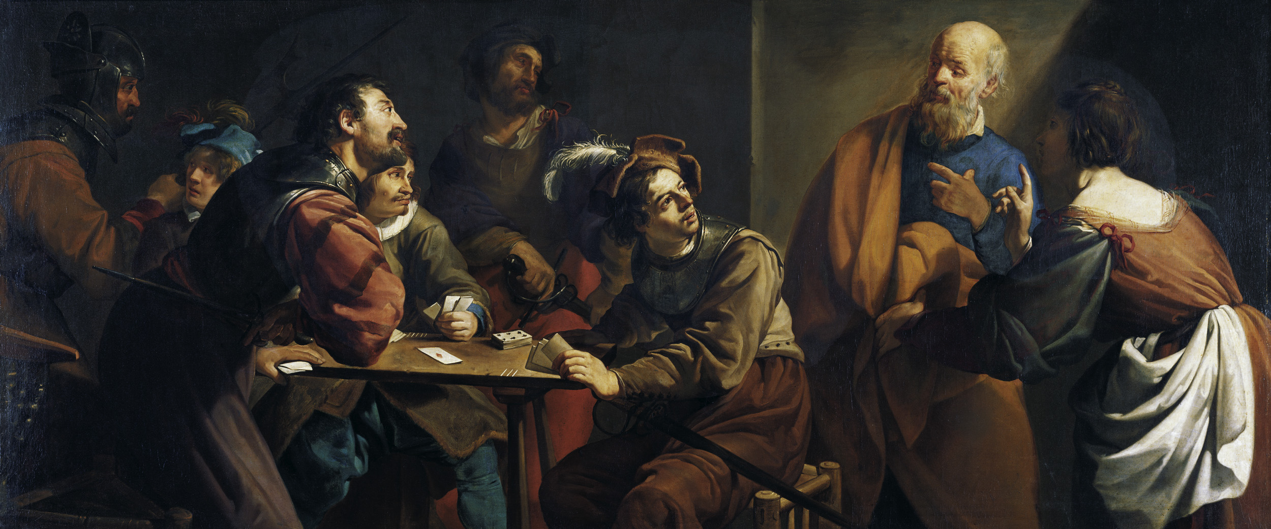 A description of the apostle who betrayed his divine master