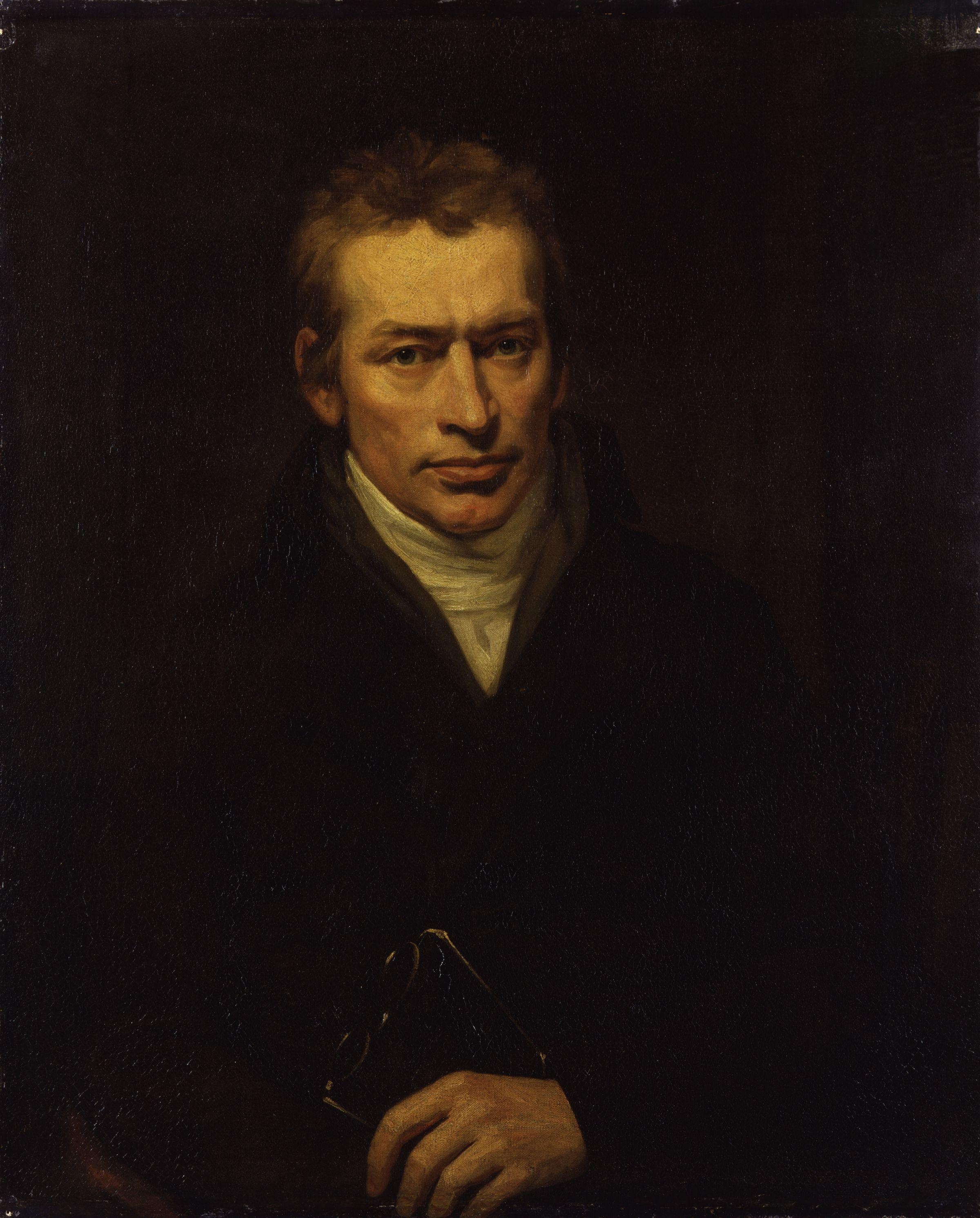 Portrait, oil on canvas, of Thomas Holcroft (1745–1809) by [[John Opie