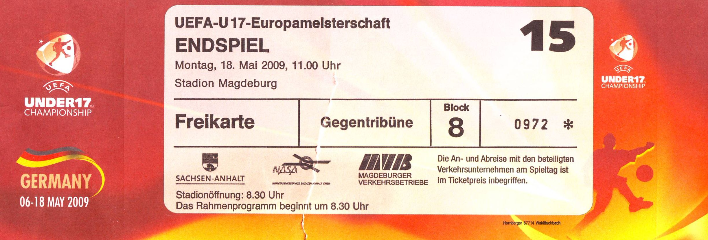 ticket pokalfinale