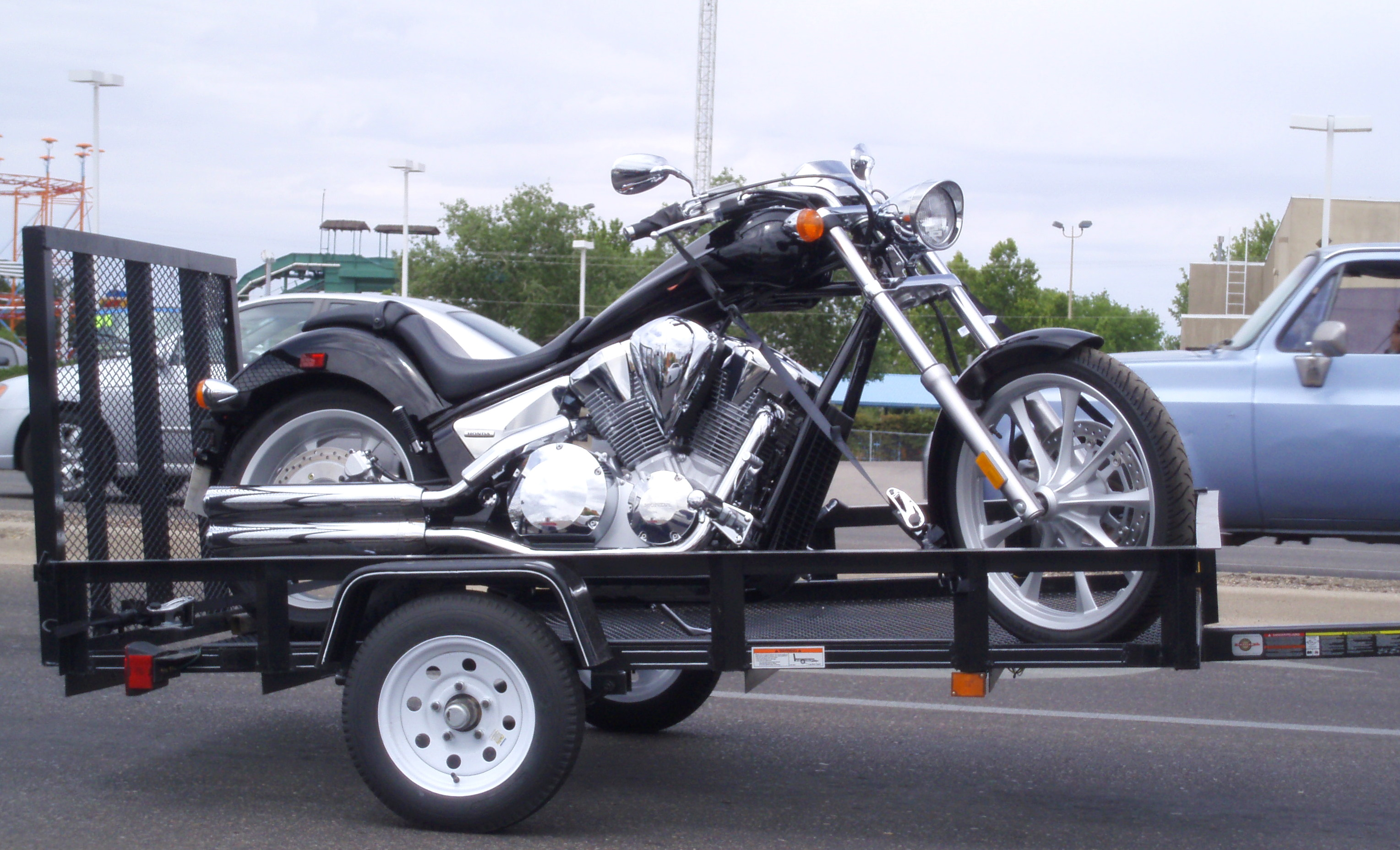 Motorcycle Motorcycle Trailer