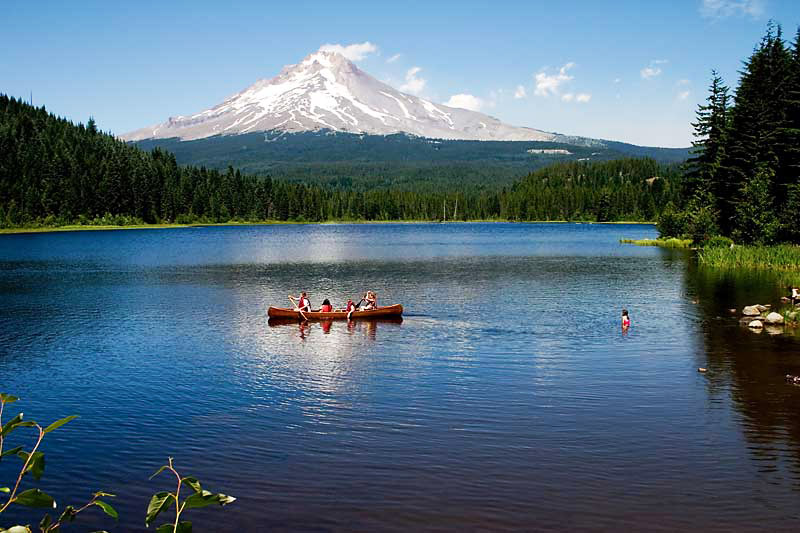 Trillium lake wikipedia for Oregon free fishing