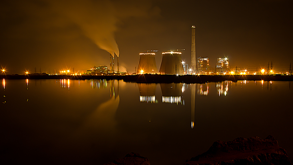 Tuticorin India  city images : Tuticorin Thermal Power Station at Night 2 Wikimedia ...