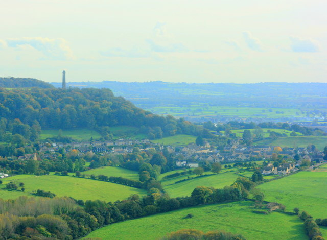 Tyndale Monument and North Nibley - geograph.org.uk - 1013398