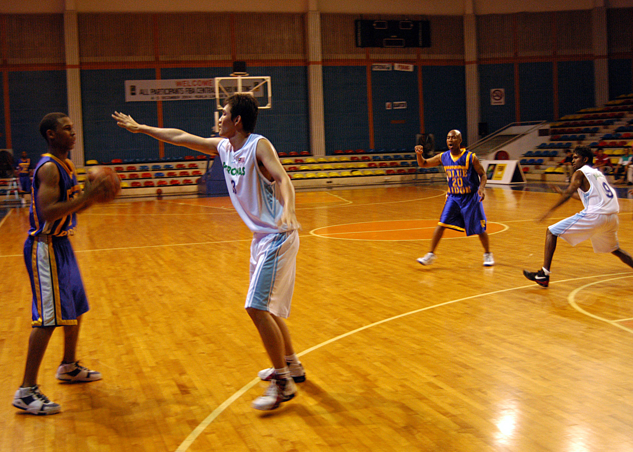 game Amateur basketball