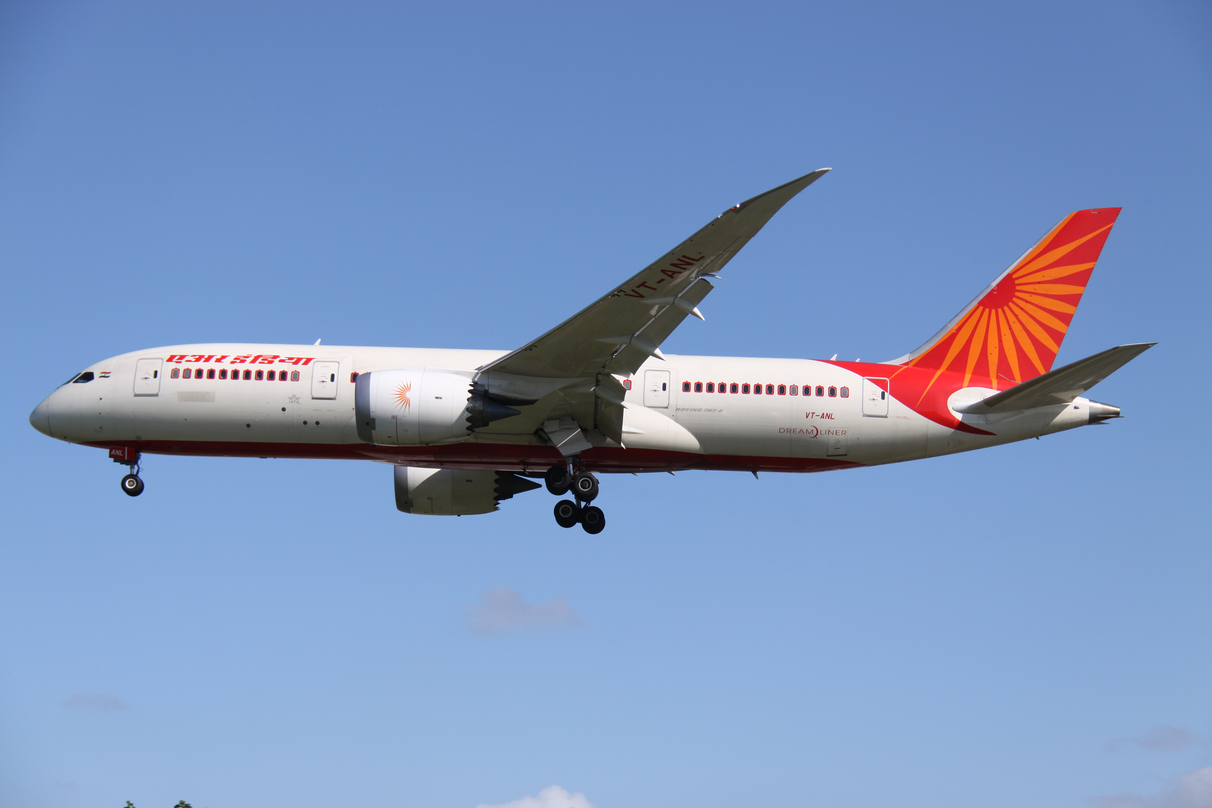 Boeing 788 of Air India