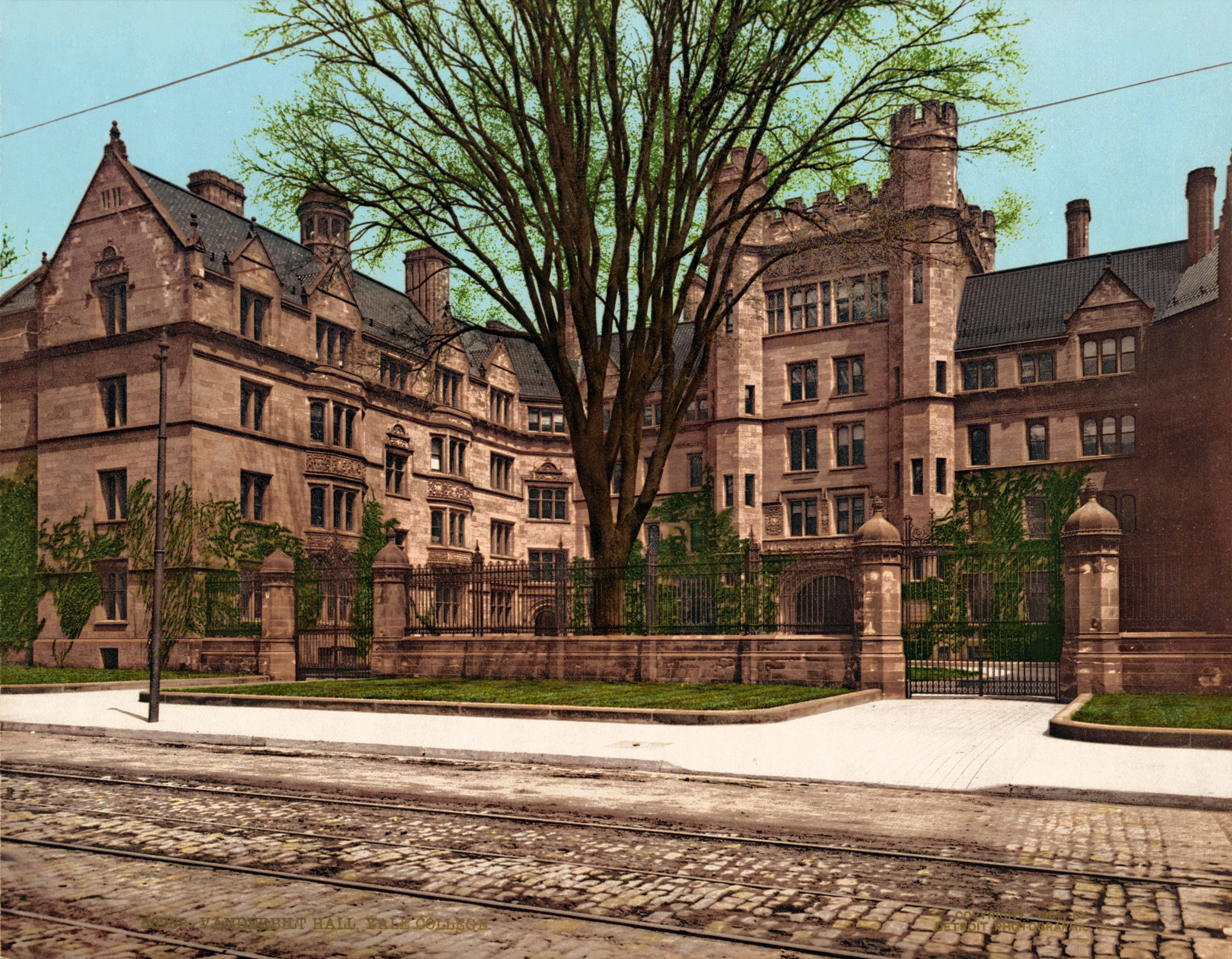 File:Vanderbilt Hall, Yale College, New Haven, Connecticut, 1901 ...