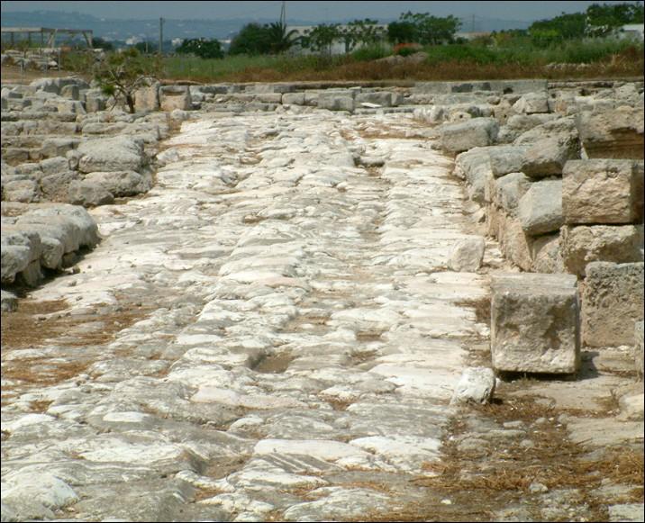 Via romana - Egnazia
