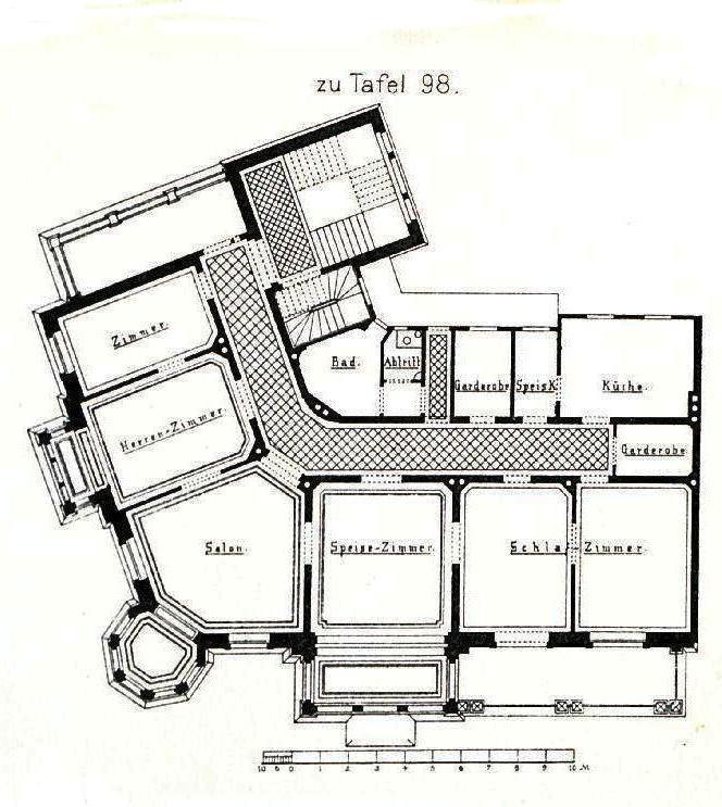Moderne architektur villa grundriss  Datei:Villa Kaiserstraße 71, Mainz, Architekt G. Peisker aus Mainz ...