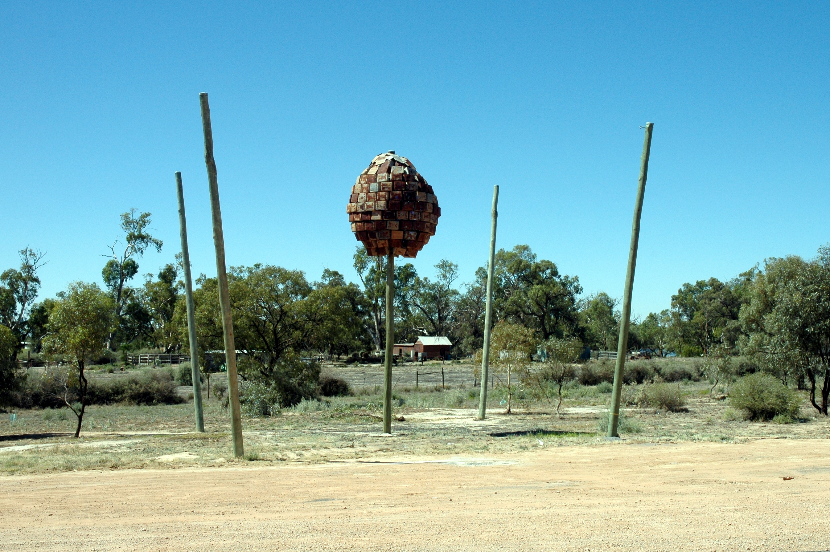 Wentworth Australia  city photos : Wentworth NSW Australia roadside art Wikipedia, the free ...