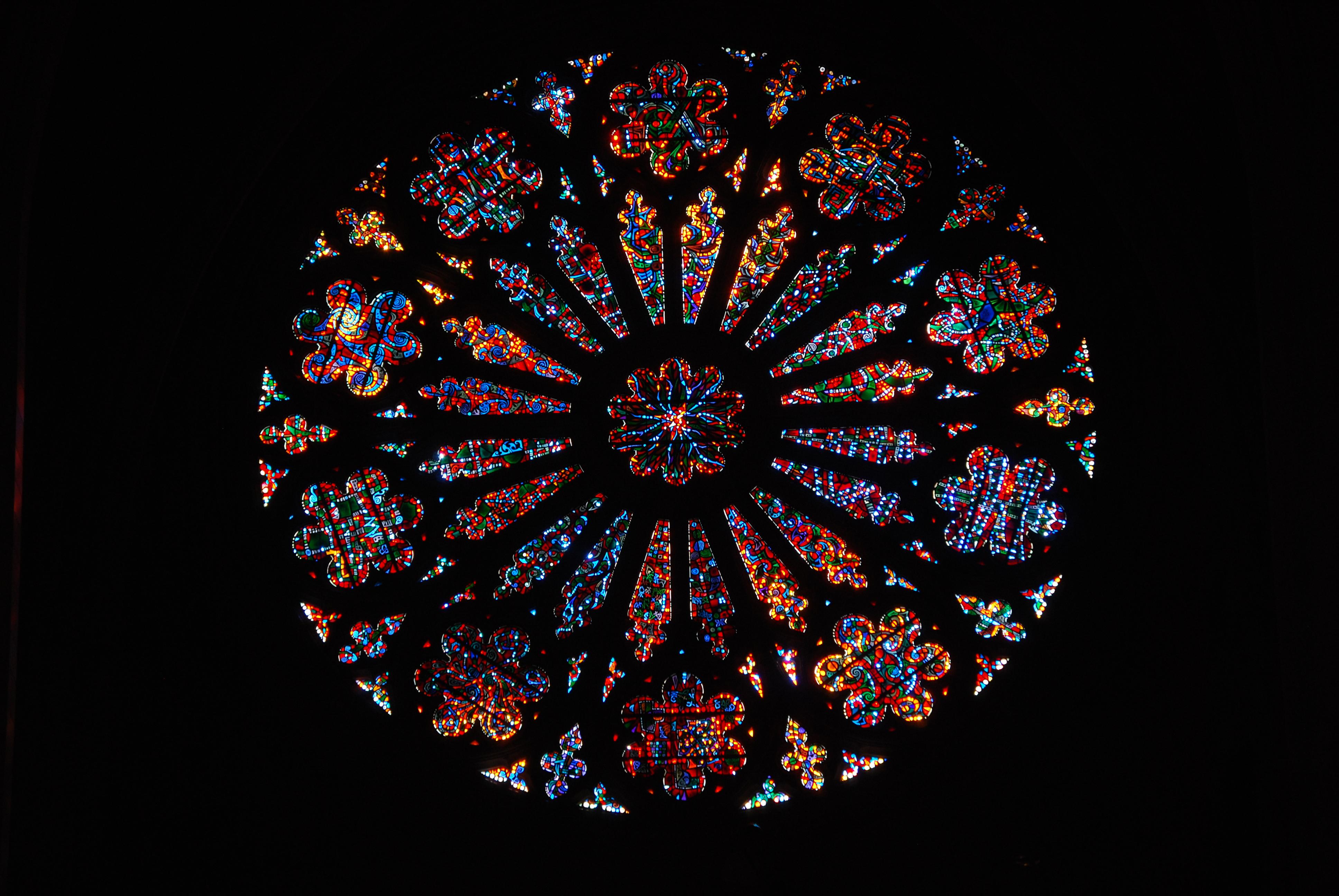 File West Rose Window Washington National Cathedral Jpg