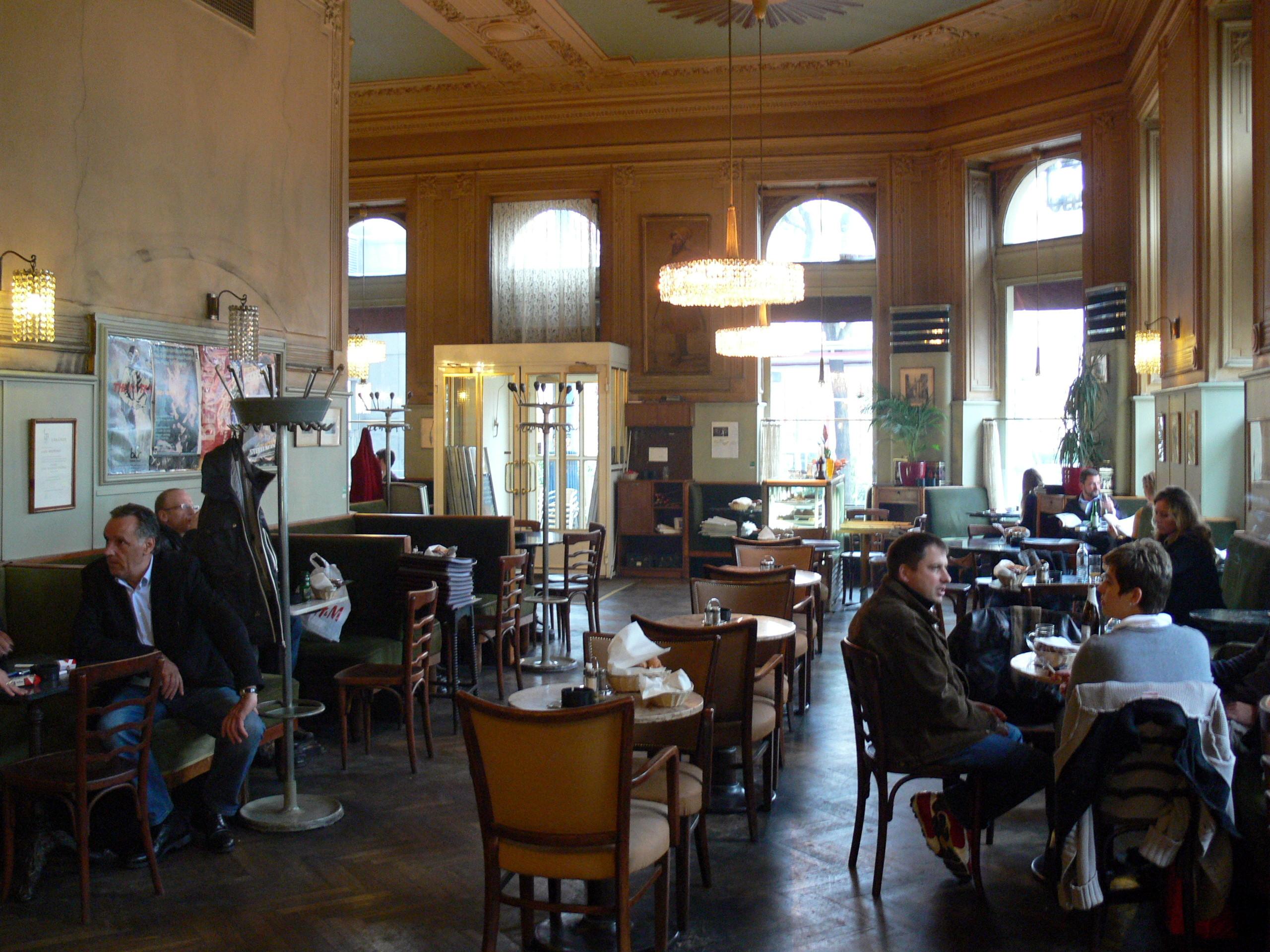 Cafe Kafka Wien Speisekarte