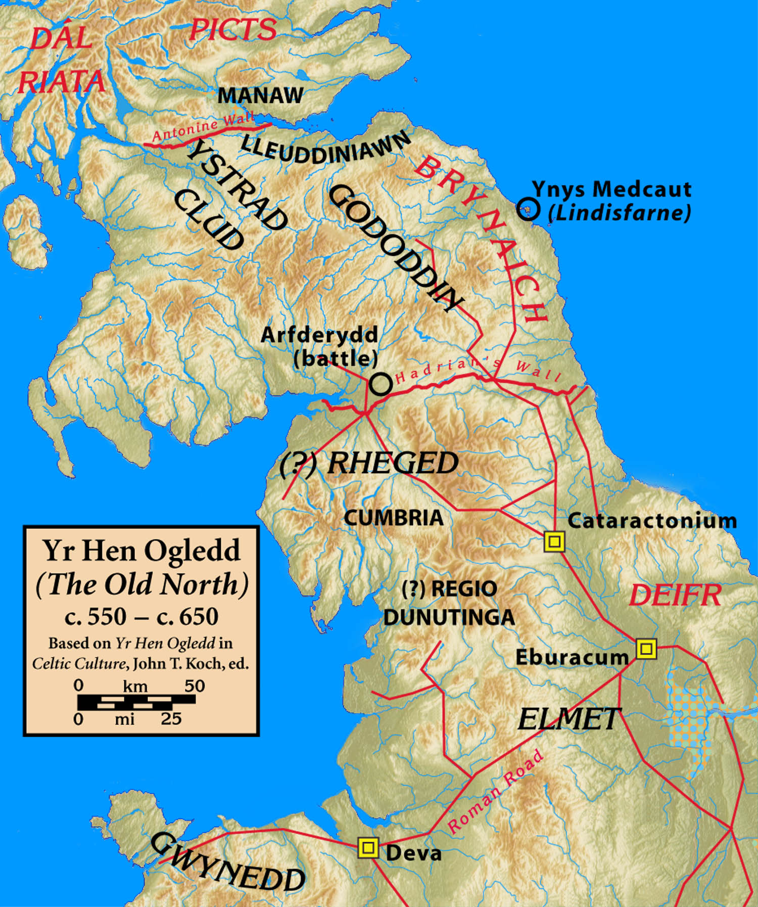Map Of England Edinburgh.Eidyn Wikipedia